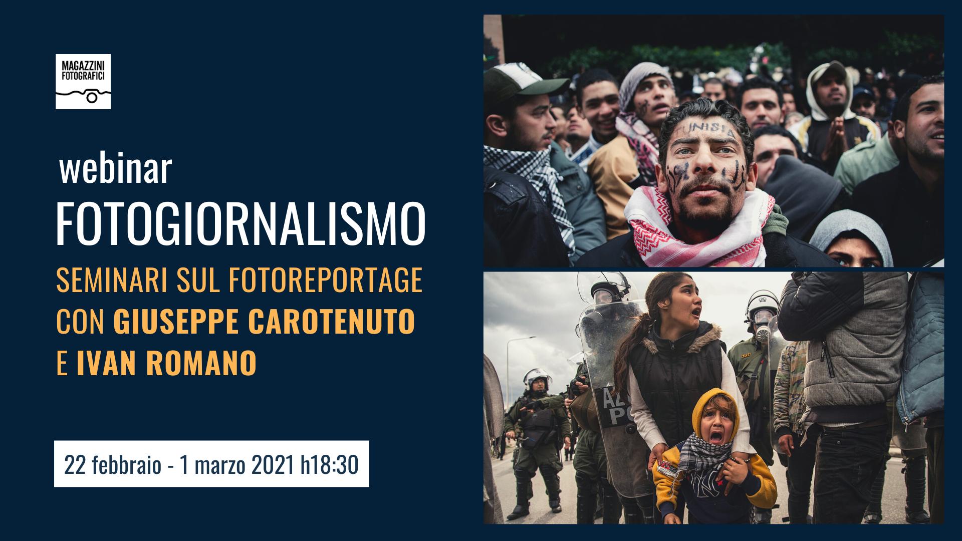 Seminari Fotogiornalismo