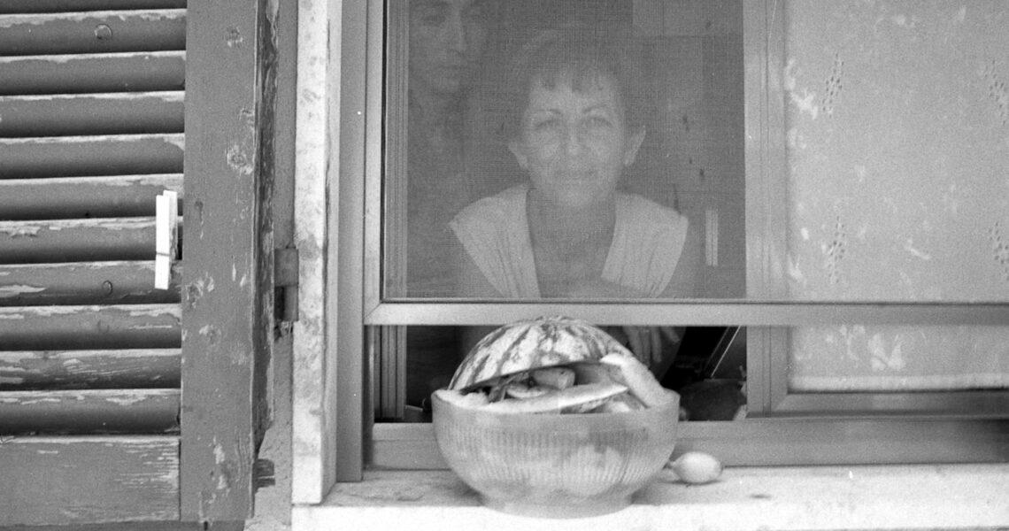 20.12.53-10.08.04 (mamma alla finestra) 12x18 cm