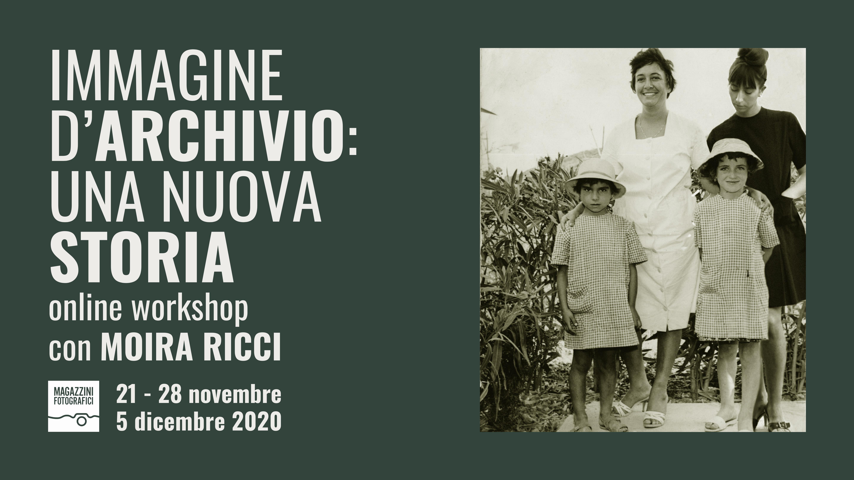 Locandina Workshop Moira Ricci