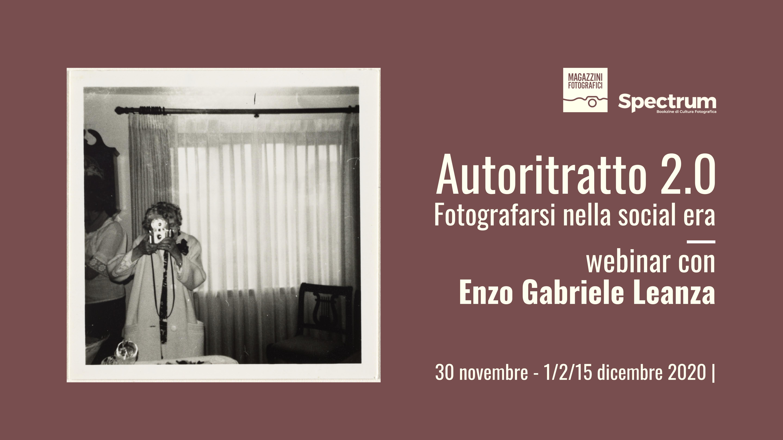 webinar autoritratto fotogriafico