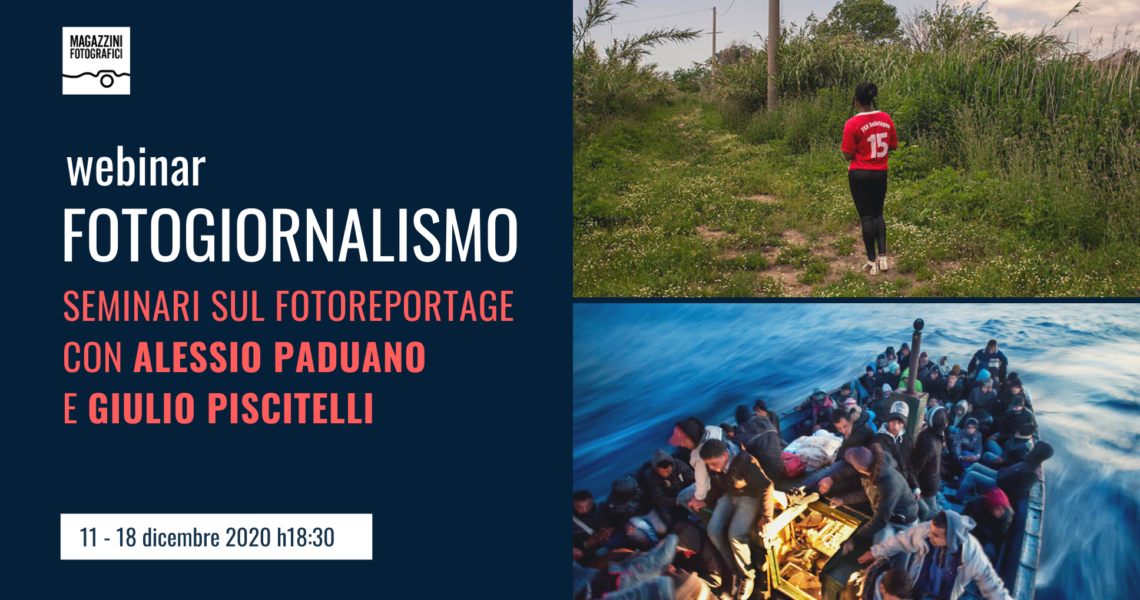 webinar fotogiornalismo
