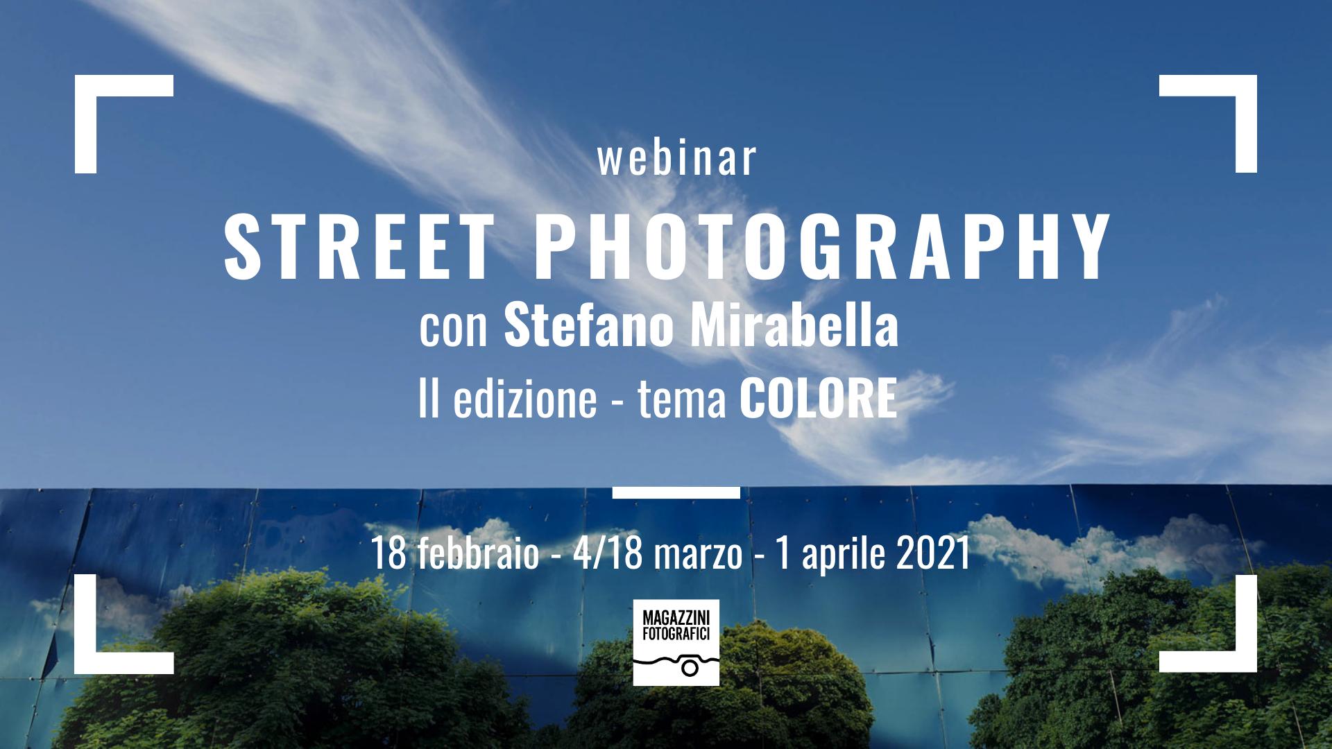 Street Colore con Stefano Mirabella