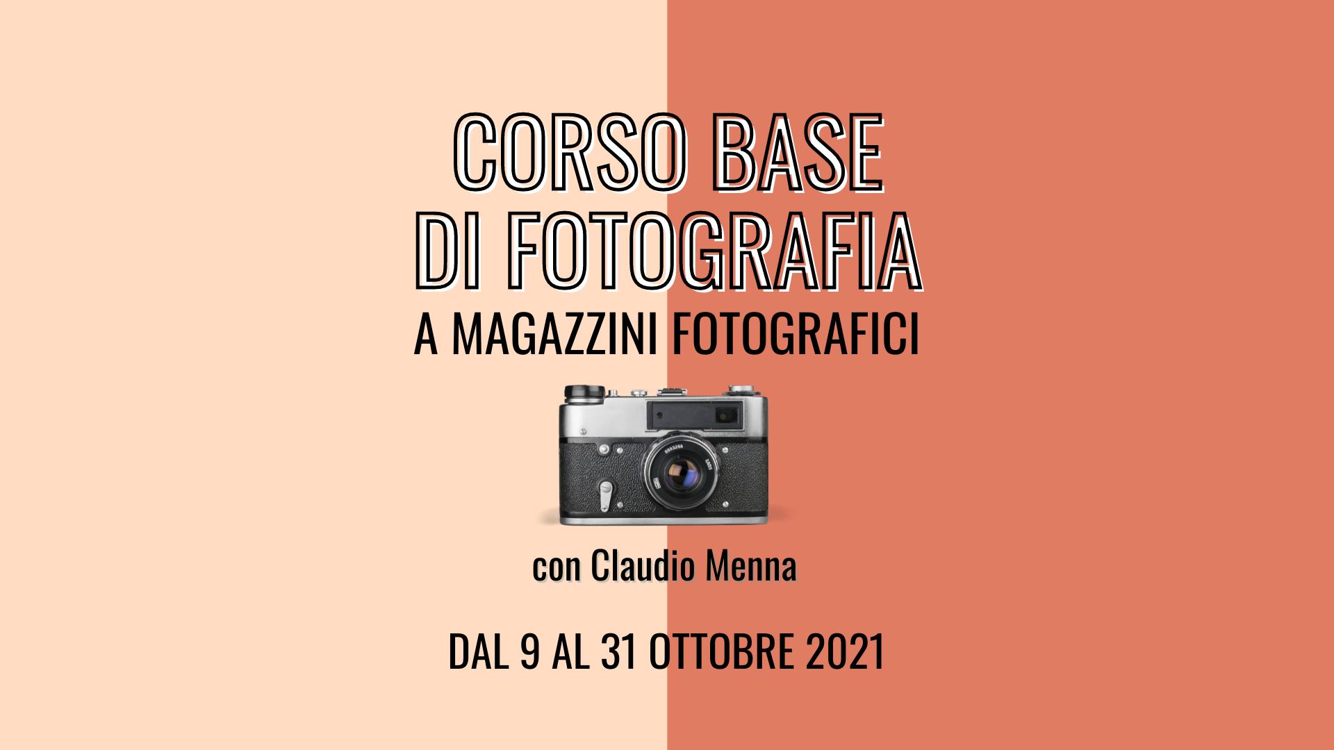 corso base di fotografia Magazzini Fotografici